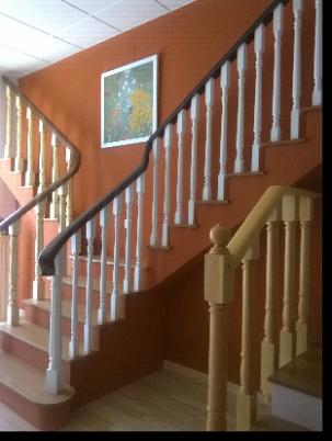 Barandas de escaleras en madera ortiz sevilla - Barandas de escaleras de madera ...